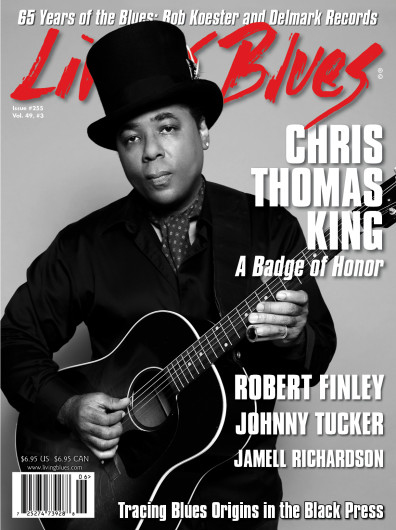 ALBUM REVIEW: LIVING  BLUES MAGAZINE